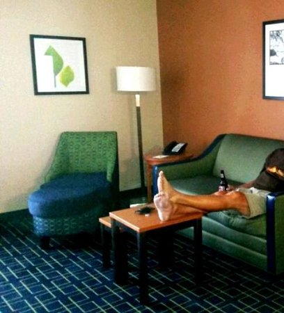 "Fairfield Inn & Suites Anaheim North/Buena Park: Part of ""living room"" in King Suite"