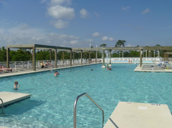 Gulf State Park Campground: Pool Area