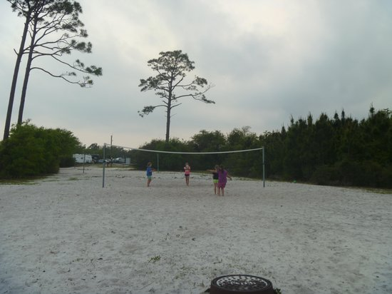 Gulf State Park Campground : Volley Ball Area