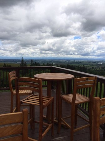 Domaine Drouhin Oregon: Patio