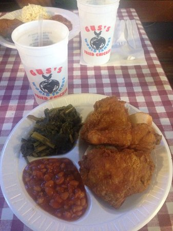 Gus's World Famous Fried Chicken : Mmm