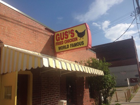 Gus's World Famous Fried Chicken : World famous!