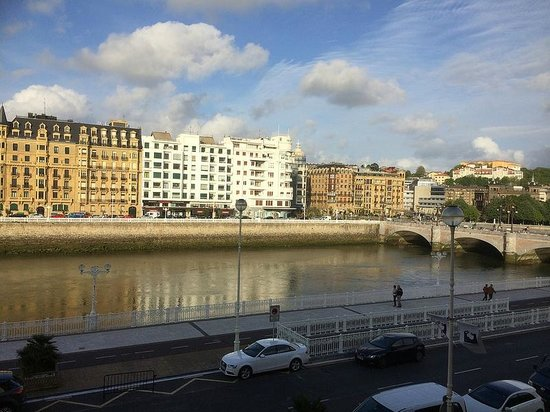 Hotel Maria Cristina, a Luxury Collection Hotel, San Sebastian: the view from room 105