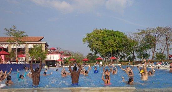 Decameron Barú: Animacion en piscina