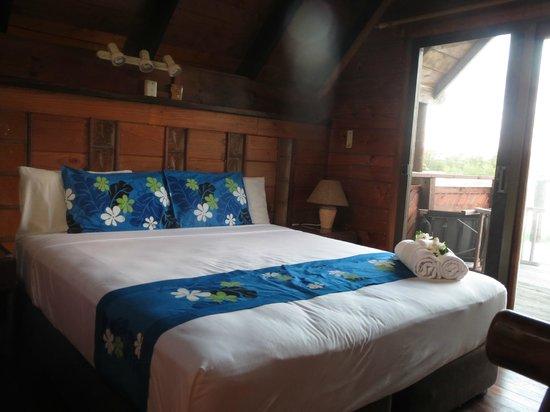Sokala Villas: bedroom area