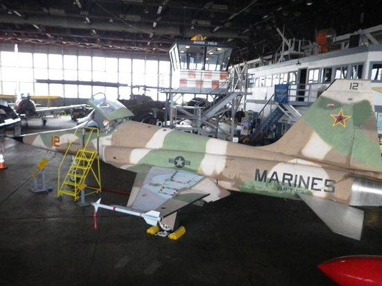 Naval Air Station Wildwood Aviation Museum: ..as seen in Top Gun