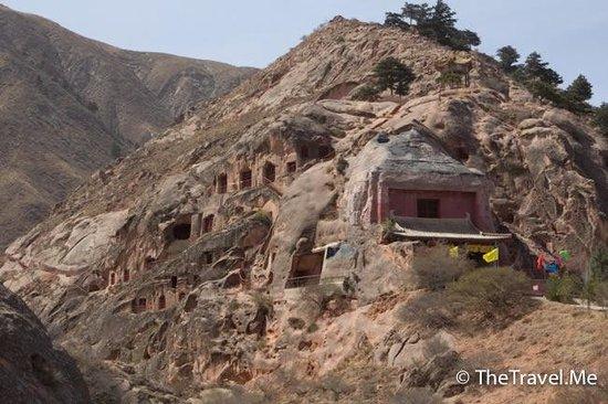 Guyuan, จีน: 須彌山遠景