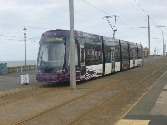 The Royal Boston Hotel : The tram into town