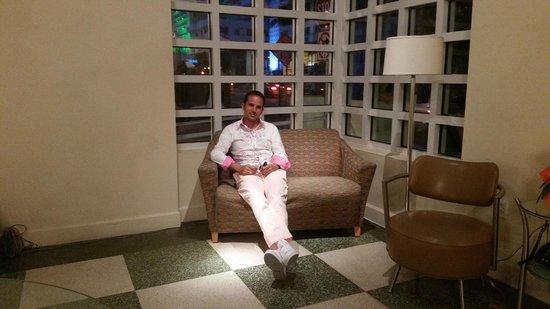 Ocean Spray Hotel: el loby del hotel