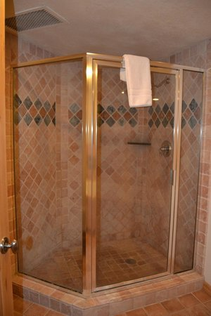 The Caledonian : Separate shower