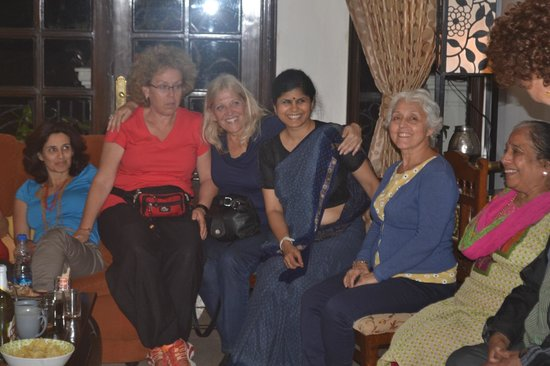 Vandana's Bed and Breakfast: guests