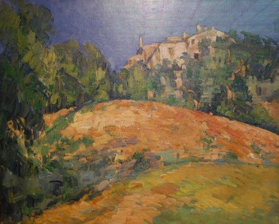Gemeentemuseum Den Haag : Cezanne: House Bellevue on the Hill