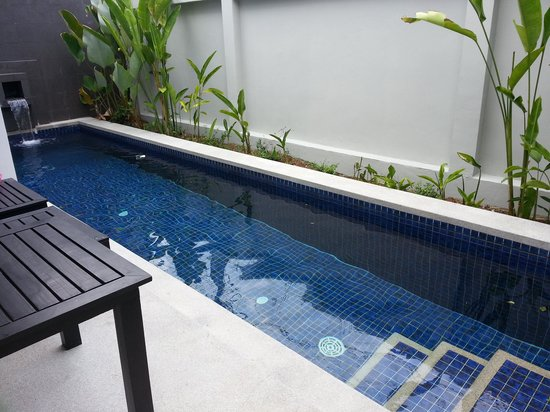 Seastone Pool Villas: big swimming pool!