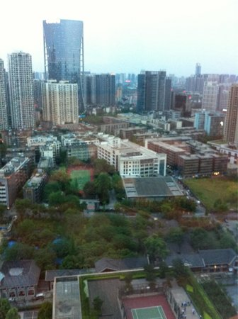 Shangri-La Hotel Chengdu : View from room
