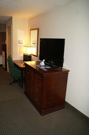 Best Western Plus Milwaukee Airport Hotel & Conference Center: Computer Desk & TV