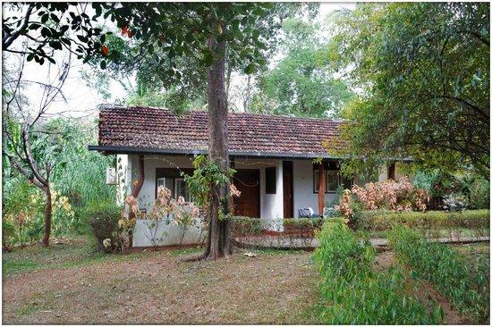 Habarana Inn: Un jardin reposant