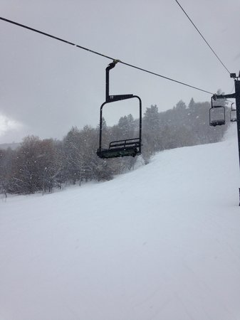 Nordic Valley Ski Resort: Wolf Mountain powder day 2014