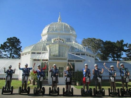 Electric Tour Company Segway Tours: Our group