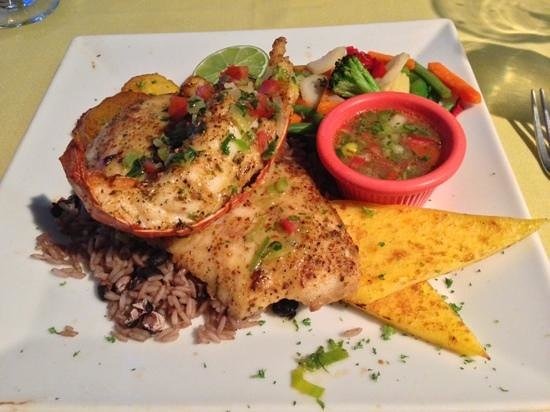 Wacky Wahoo's: fresh catch barracuda special.  it was awesome!