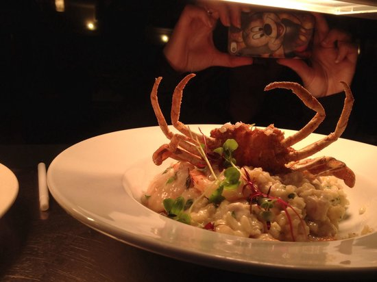 Kalimna Hotel: Seafood risotto