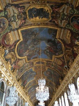 La Galerie des Glaces : ceiling