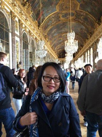 La Galerie des Glaces : selfie