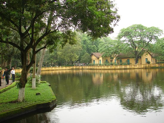 Ho Chi Minh Presidential Palace Historical Site: House No. 54 and the fish pond
