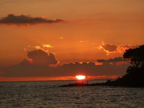 Sheraton Senggigi Beach Resort : Perfect sunset