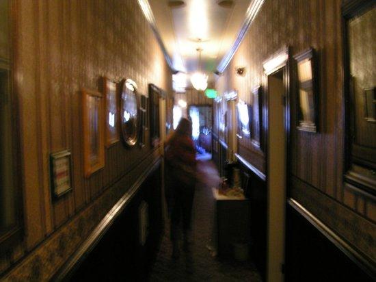1859 Historic National Hotel : 2nd floor Hallway