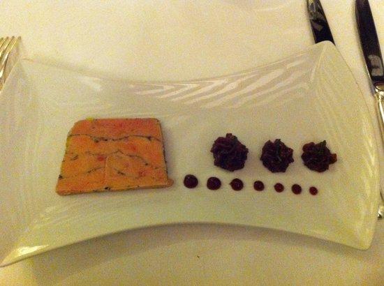 Auberge de Cassagne : Entrée foie gras