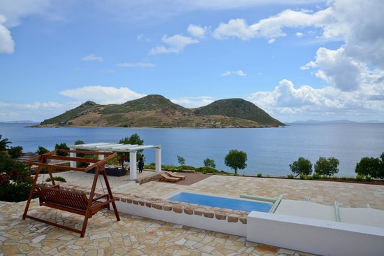 Onar Patmos: View from our room!
