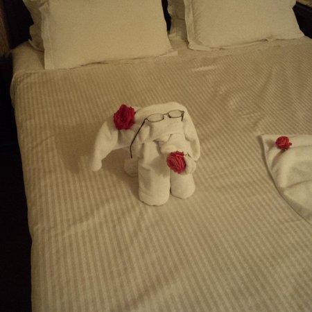 Hotel Kalehan: The cleaners have a good sense of humour!