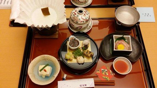 Hoshokaku : 1st course of the kaiseki dinner