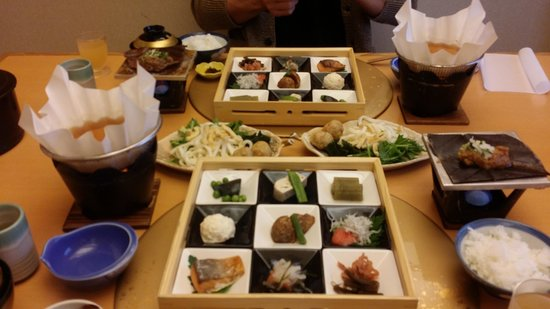Hoshokaku : breakfast