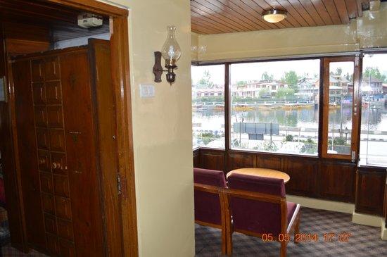 Shahenshah Palace Hotel: Outside room