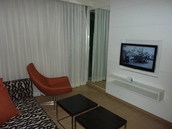 West Boutique Hotel Ashdod: Living room