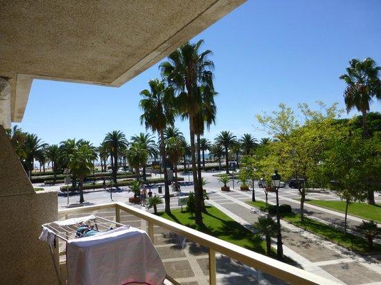 Blaumar Hotel: Вид с балкона