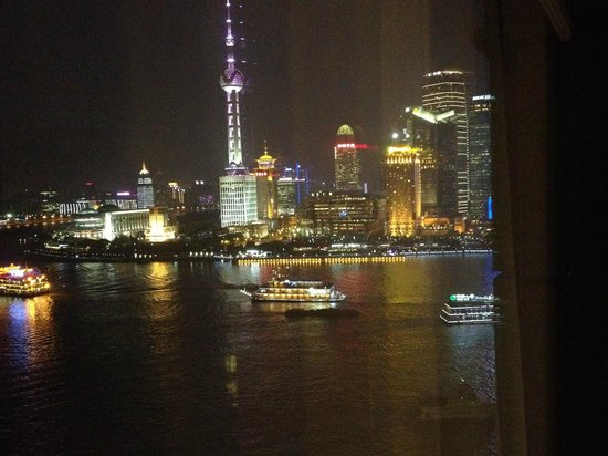 Les Suites Orient, Bund Shanghai : Night View from 2205