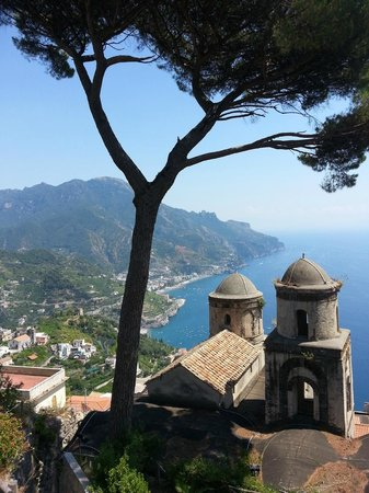 Villa Rufolo : one of the view over amalfi coast