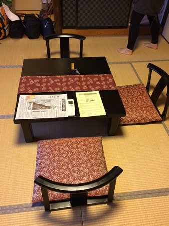 Toki Yuyu Rakuyu : Room (before beds where laid)