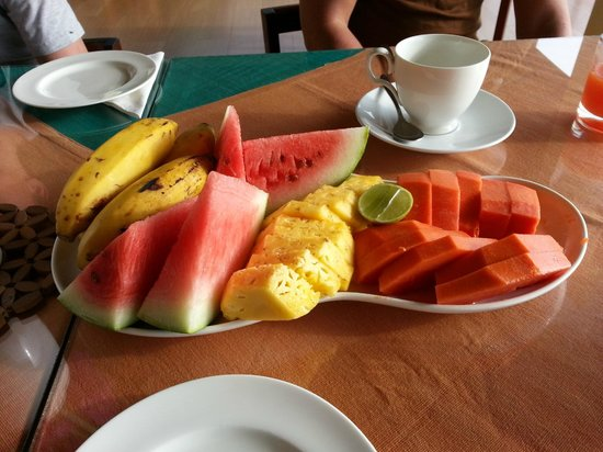 Nature Walk Resort: Fresh fruit for breakfast