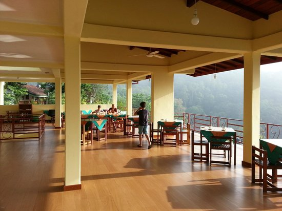 Nature Walk Resort: Roofterrace for breakfast and dinner