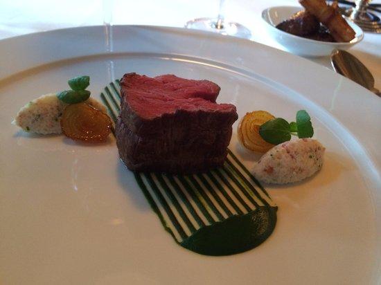 Kronenschlösschen Hotel & Restaurant: Wagyu-Beef im Kronenschlösschen