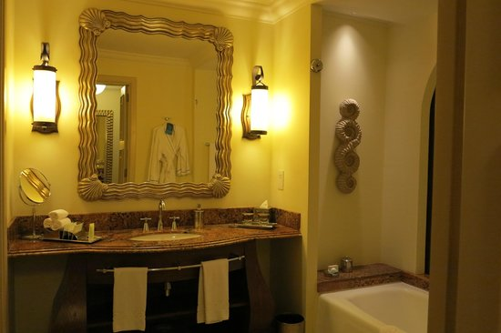 Atlantis, The Palm: Sink & bath