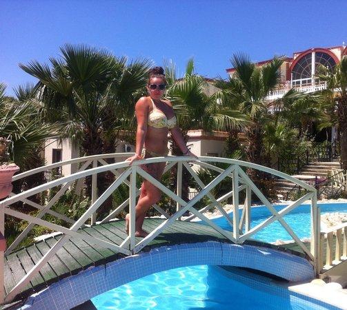 Palm Garden Hotel: Poolside @palm garden ❤
