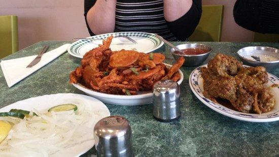 Five Hot Chillies: Mix Bhajiya
