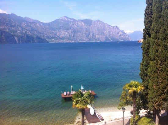 Beach Hotel Du Lac: Blick vom Balkon