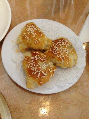 Dim Sum Delights: Baked BBQ Pork Puffs