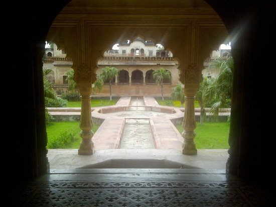 Jaipur, India: Deeg palace. Deeg