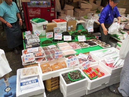 Ueno: Fresh sea food